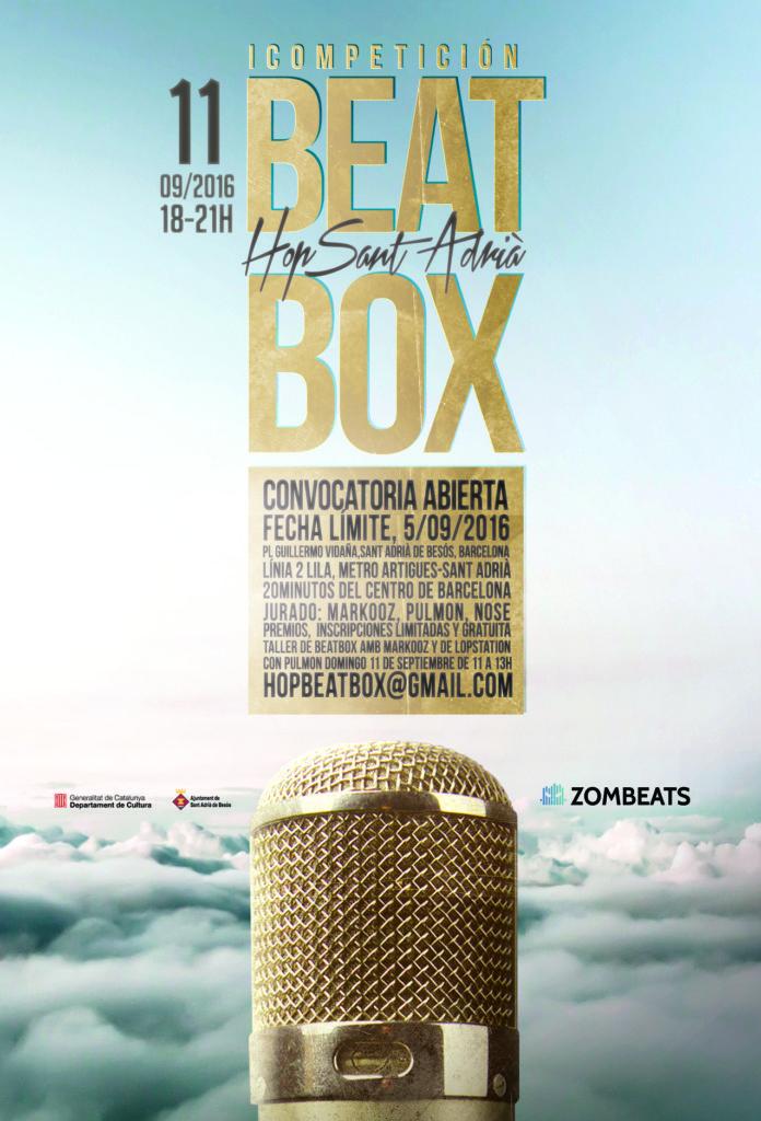 Cartel Competición Beatbox Hop 2016