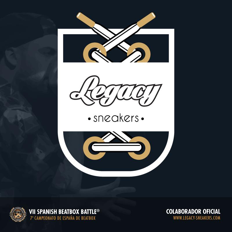 Legacy Sneakers - Colaborador del 7º Campeonato de España de Beatbox