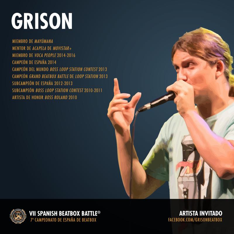 Grison - Artista invitado del 7º Campeonato de España de Beatbox