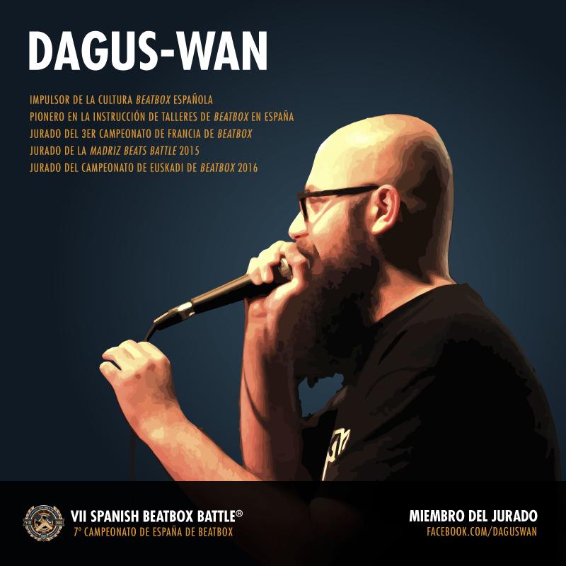 Dagus-Wan: jurado xdel 7º Campeonato de España de Beatbox