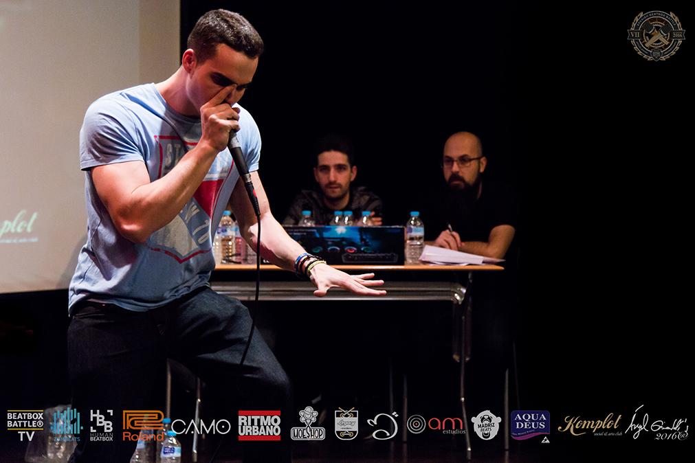 Zekka en el 7º Campeonato de España de Beatbox