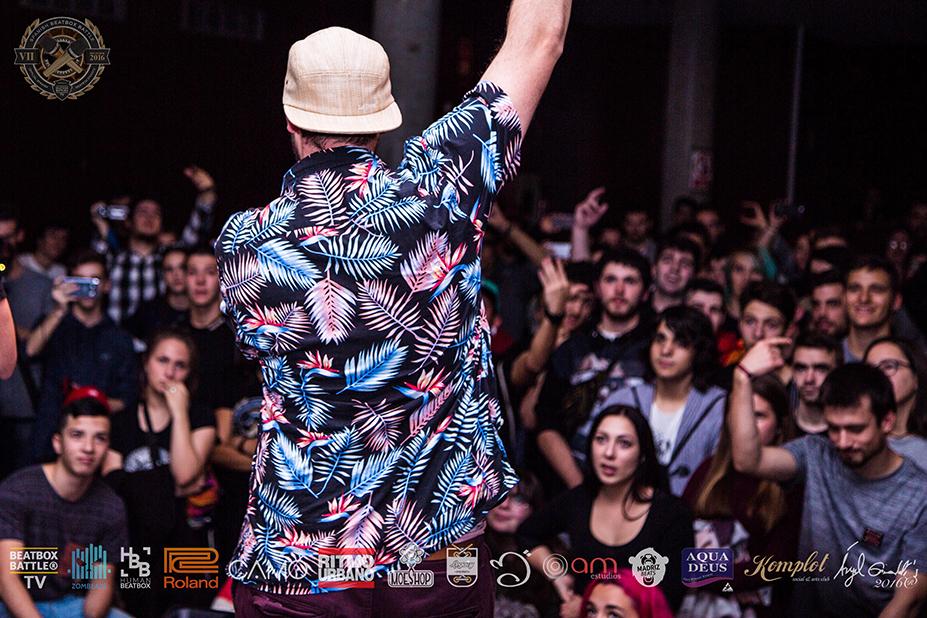 Fredy Beats en el 7º Campeonato de España de Beatbox