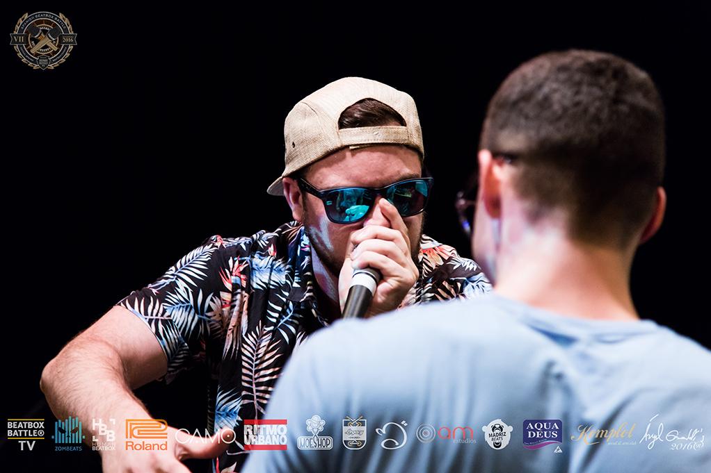 Fredy vs Zekka en el 7º Campeonato de España de Beatbox