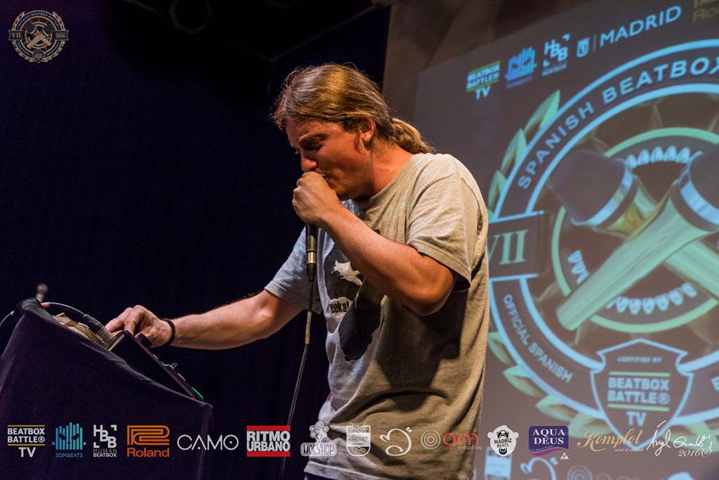 Grison en el 7º Campeonato de España de Beatbox