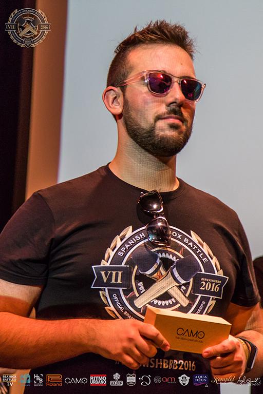 Gafas CAMO regala más de 20 gafas de sol a los ganadores y equipo del 7º Campeonato de España de Beatbox